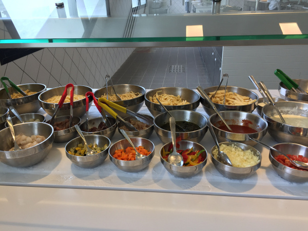 Made to order Pasta Station -Buffet by Lovethesun