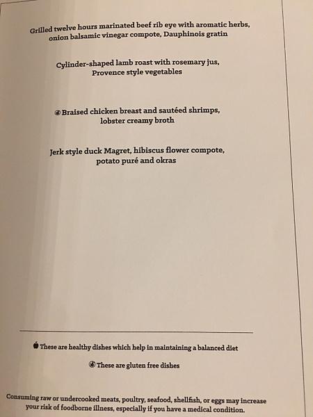 Magna Dinner Menu by Lovethesun