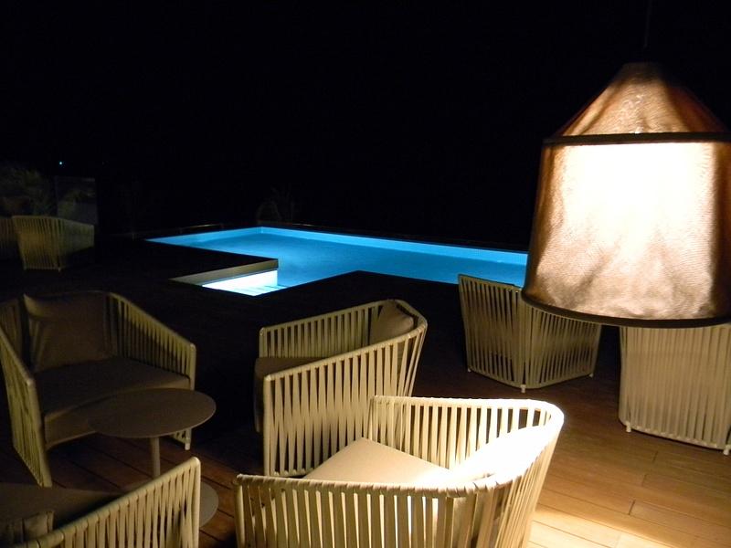 X Lounge at night