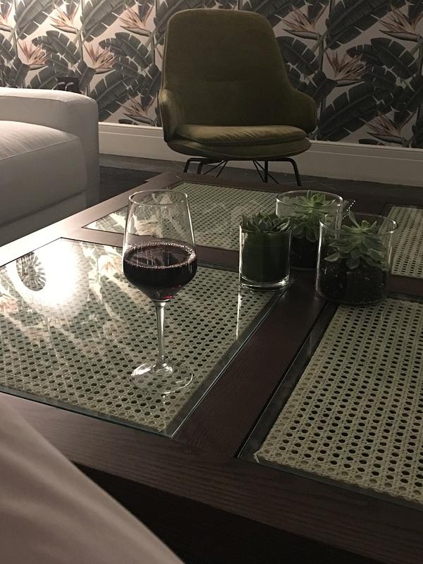 Wine at the Martini Bar