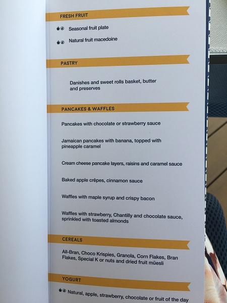 Lobster House Breakfast menu by Lovethesun