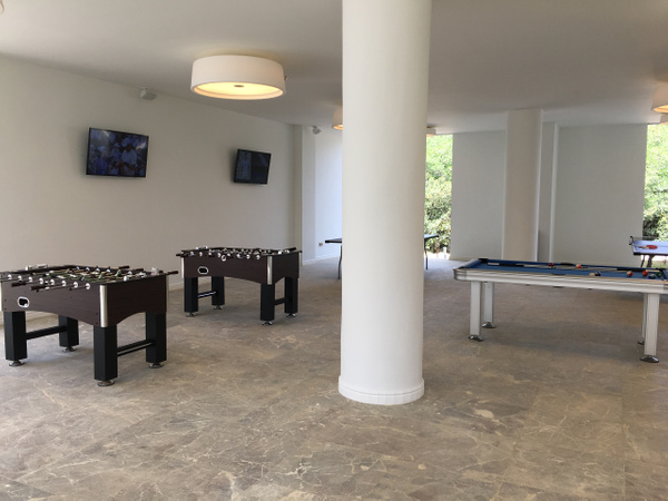 Games area behind Bldg 1 by Lovethesun