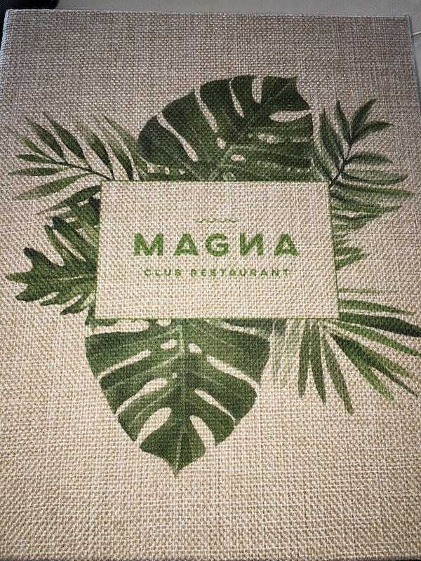 Magna Menu