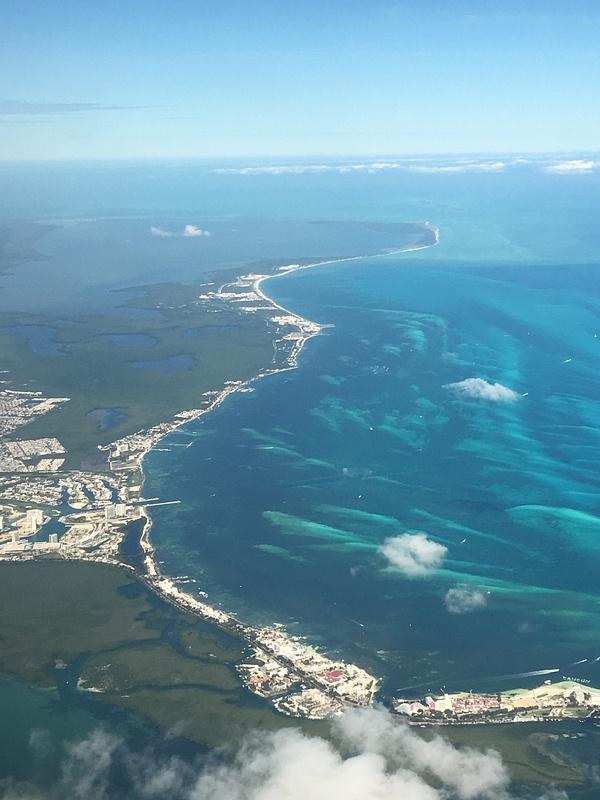 View of Playa Mujeres