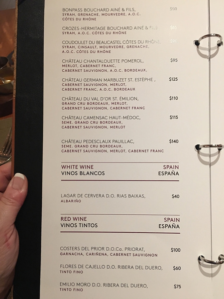 Wine List by Lovethesun