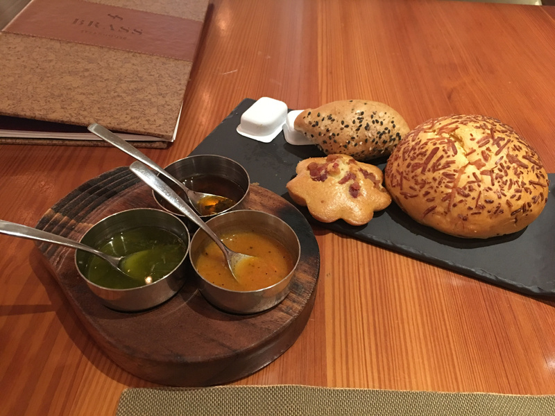 Brass - Bread and dipping sauces