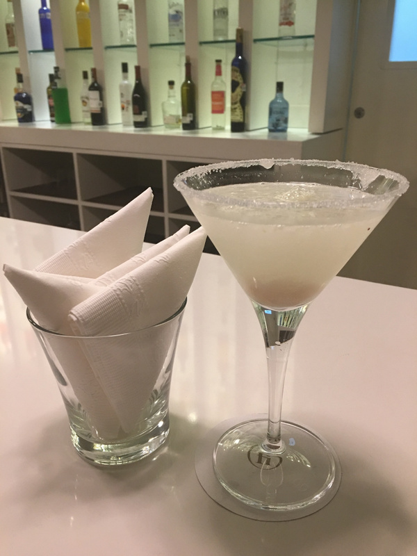 Lychee Martini in the Club Lounge
