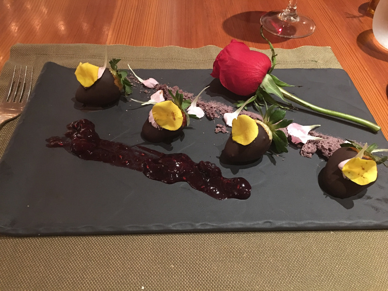 Brass - Chocolate Covered Strawberries