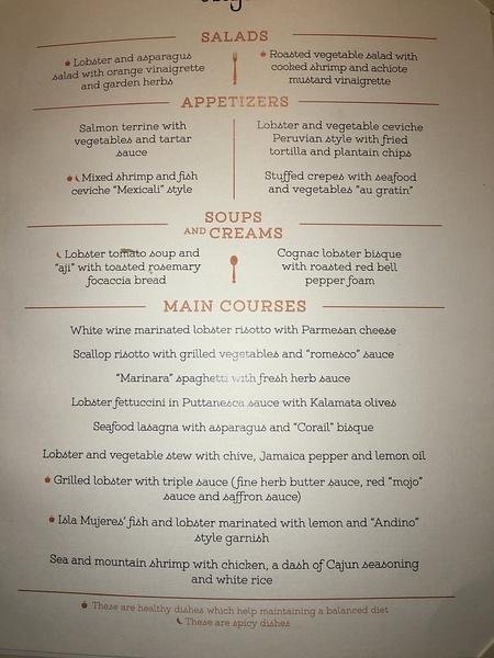 Dukes - Dinner Menu by Lovethesun