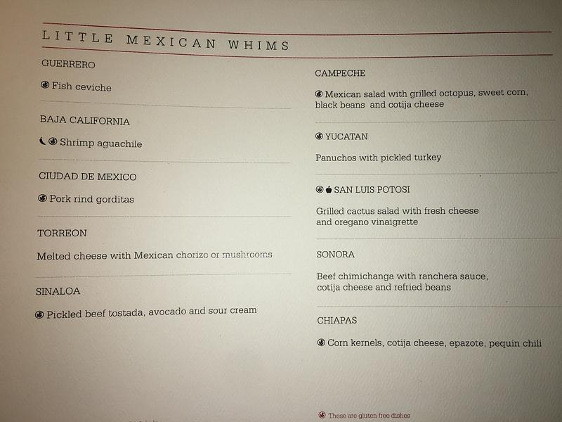 Lizo - Dinner menu
