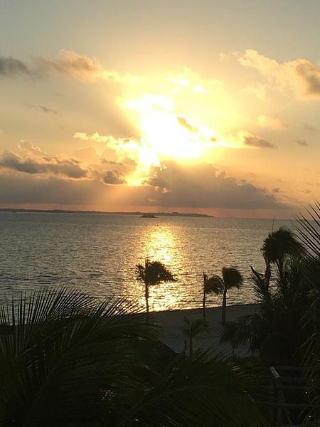 Sunrise over Isla Mujeres by Lovethesun