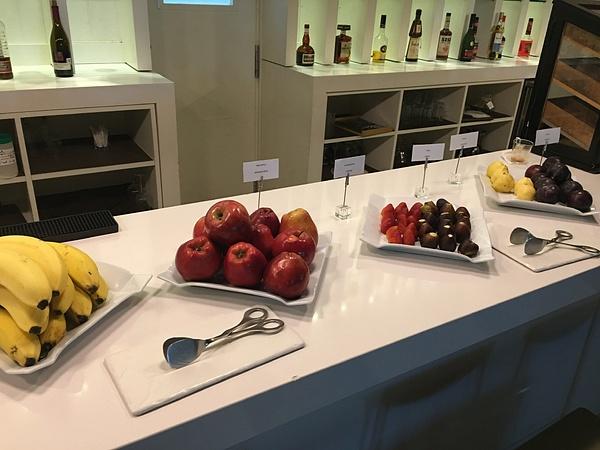EC Lounge - breakfast offerings by Lovethesun