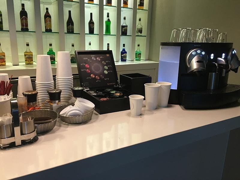 EC   Lounge - Breakfast offerings