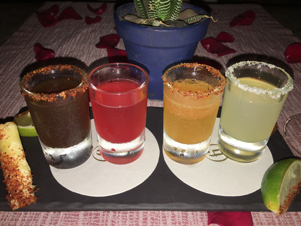 Assorted Magheritas at Lizo by Lovethesun