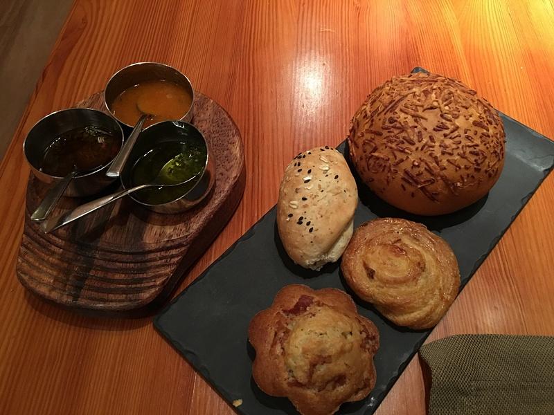 Brass Steakhouse - best bread EVER