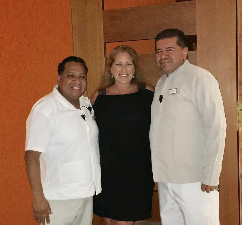 With Julian Palma and Humberto Gonzalez
