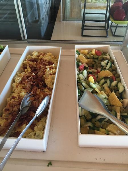 Salads at Las Dunas by Lovethesun