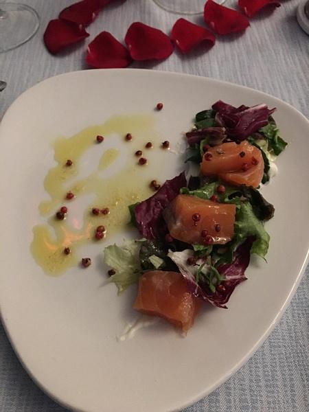 The Bistro - salmon appetizer by Lovethesun