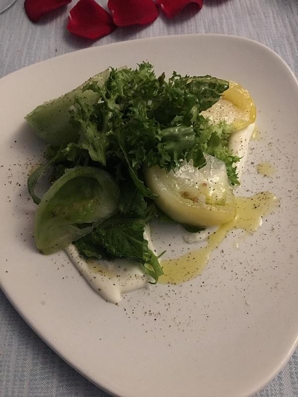 The Bistro  - Heirloom Tomato Salad