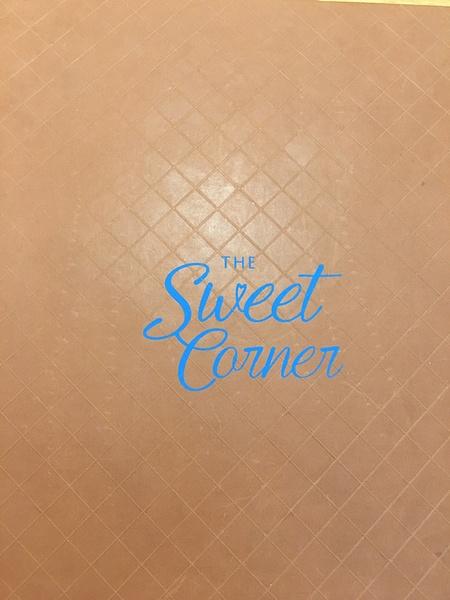 The Sweet Corner Menu by Lovethesun