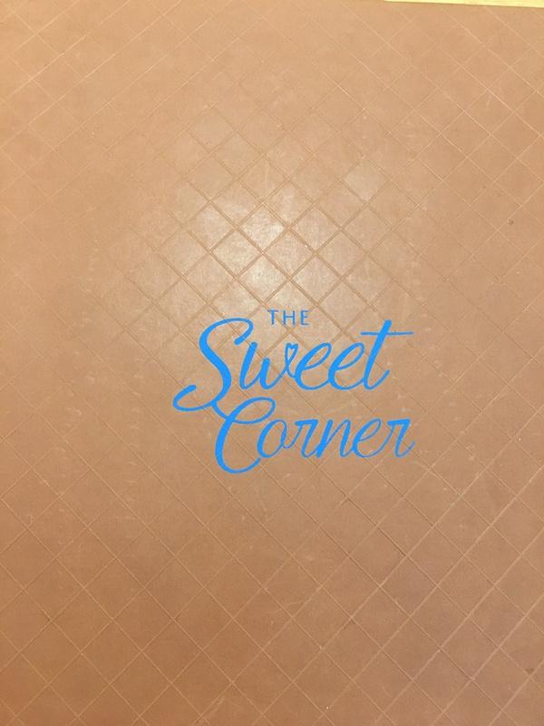 The Sweet Corner Menu