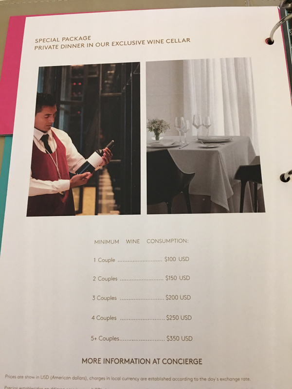 Wine Cellar pricing