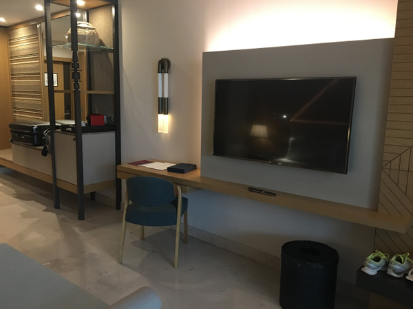 Tv and workstation by Lovethesun