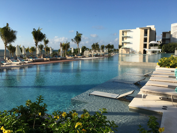 Main pool near Vora Mar restaurant by Lovethesun