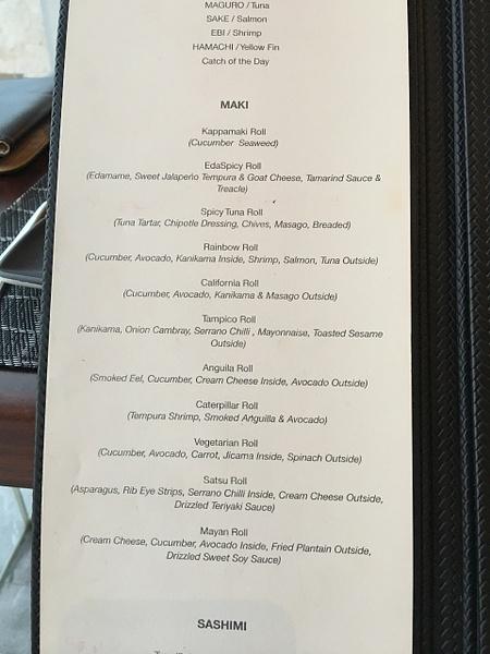 Satsu menu by Lovethesun