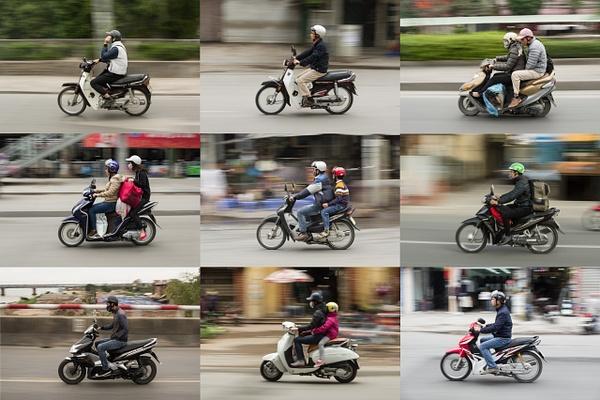 Scooters of Hanoi by Buutopia