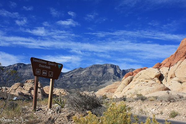 Red rock by MariaInsomnia