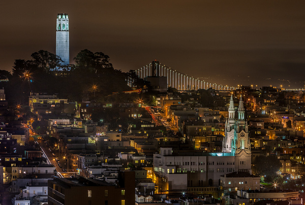 SF_Night_View_-_Marvin_Miller,_MPSA - 2015 Showcase Competition  - The Yerba Buena Chapter of the PSA