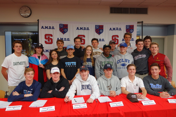 NLI Signing Day Winter 2019 by SiPrep