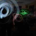 Light graffiti ... LOW LIGHT + LONG EXPOSURES