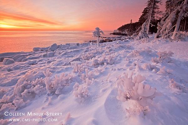 Ice Hoodoos by Colleen Miniuk-Sperry