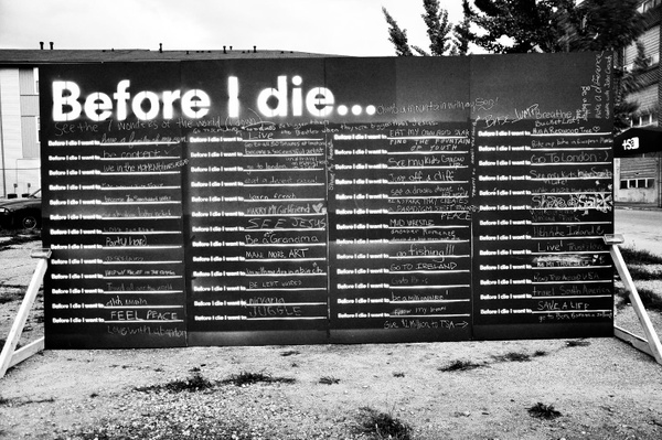 Before I Die: Toledo, OH by JoniJohnson