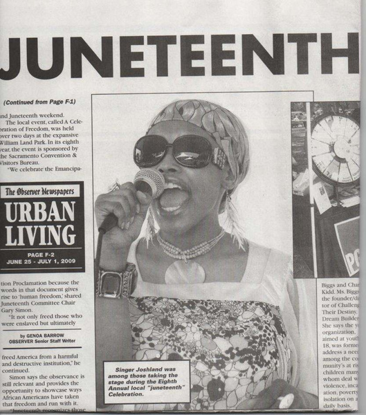 In the news. by Joshland Shervette