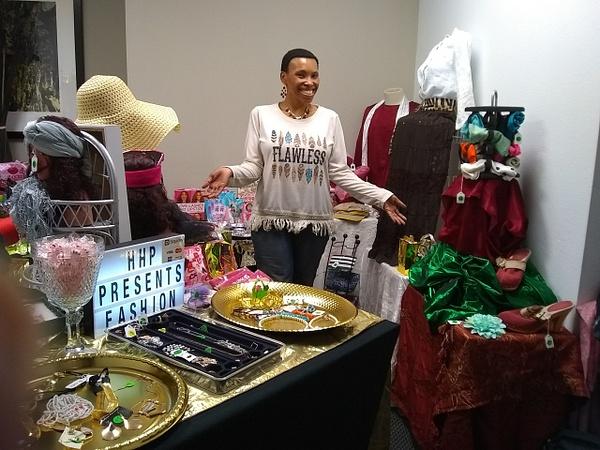 Joshland Shervette at The Joshland Shervette Fashion...