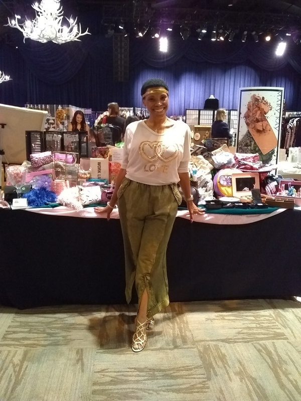 Joshland Shervette at The JS Fashion Show Experience on  October 1, 2017.