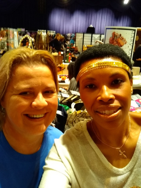 Joshland Shervette & Susi, CEO- LV Craft Show at The...