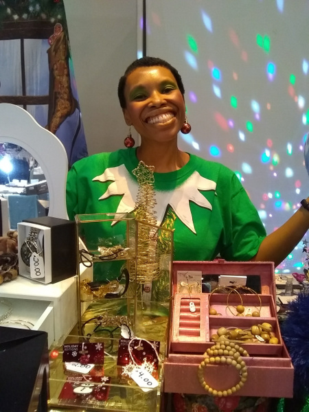 Joshland Shervette at The JS Jewelry and CD Collection...