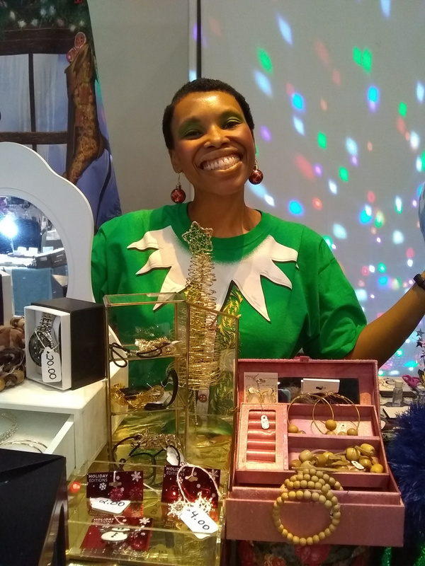 Joshland Shervette at The JS Jewelry and CD Collection on November 12, 2017.