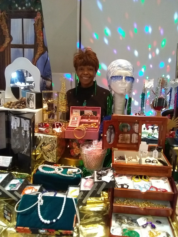 Sherry Hill, Art Director of The JS Jewelry and CD Collection on November 12, 2017.