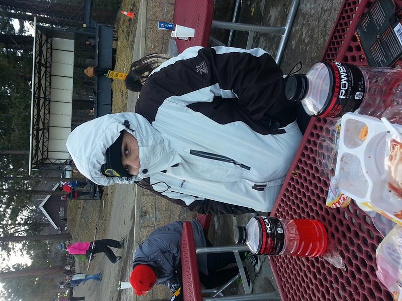 skiing during break