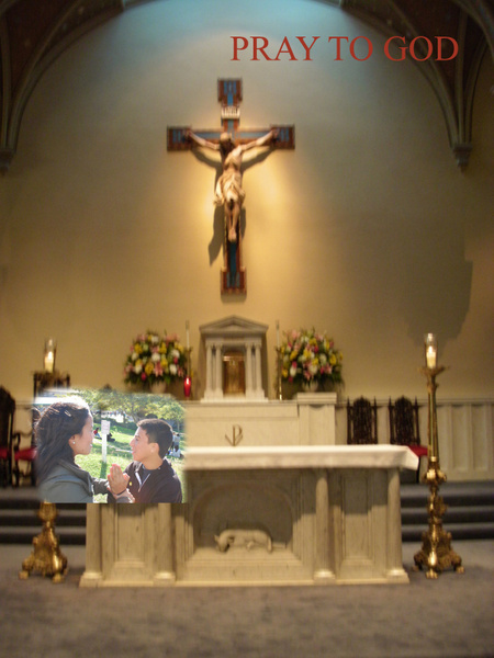 AT CHURCH by ValeriaVasquez279