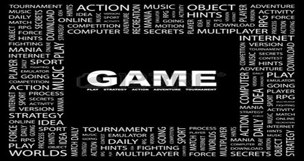 7363522-game-word-collage-on-black-background-vector-illustration by AmineAbkari