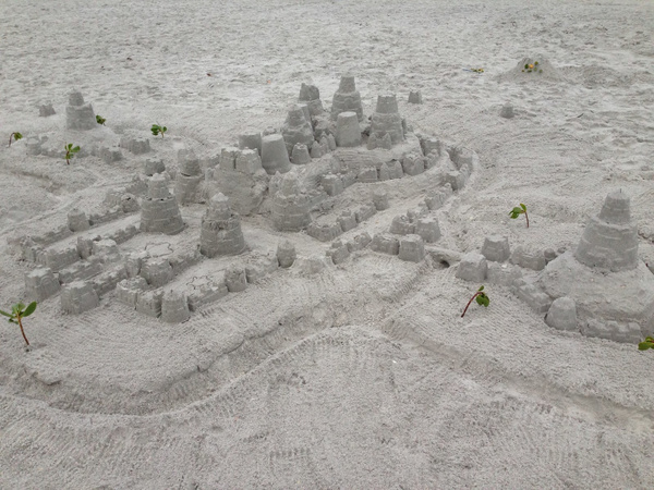 Sandcastle-1 by RicThompson