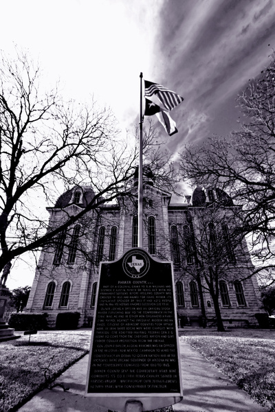 Parker County Courthouse, Texas by fwfullerphotos