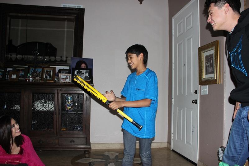 sebas's new bat