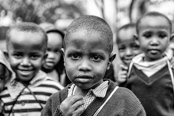 school boys by RichardFinn